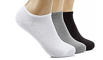 12 Pairs Mens Sport Performance Trainer Low cut Socks - Size 6 - 11