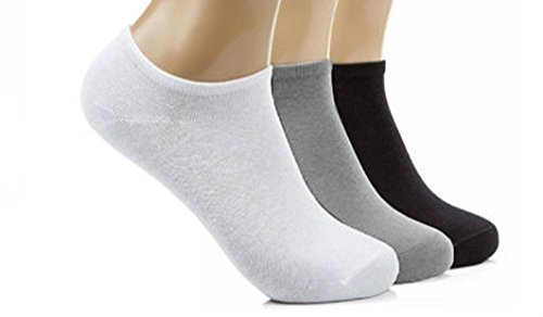 12 Pairs Mens Sport Performance Trainer Low cut Socks - Size 6 - 11 (Assorted)