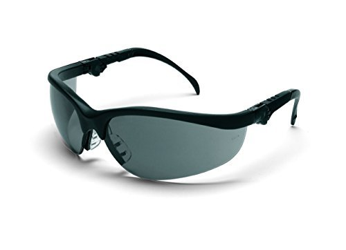 crews-kd312-klondike-plus-ratchet-temple-safety-glasses-with-black-frame-and-gray-lens-1-pair-by-mcr