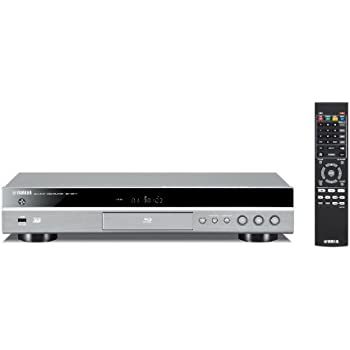 Yamaha BD-S677 Lecteur DVD Blu-Ray 3D MP3/WMV HDMI/USB/Ethernet Titane