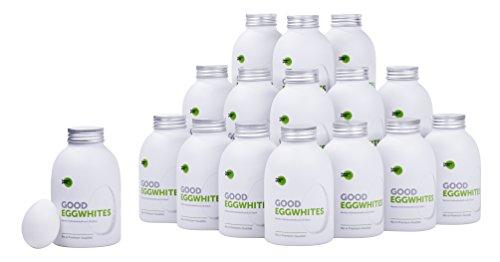 Preisvergleich Produktbild Good Eggwhites 16 x 483 ml (Bio Eiklar) • Flüssiges Eiweiß • Gesund Abnehmen & Muskelaufbau • Protein Shakes • Low Carb • PUMPERLGSUND
