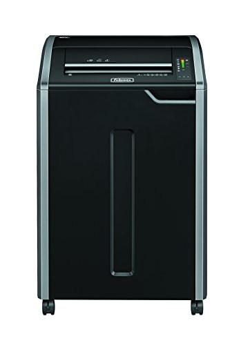 Great Buy for Fellowes Powershred 485Ci, 32 Sheet Cross Cut Commercial Shredder, 32 Sheet, 100% Jam Proof, SafeSense and Energy Saving System on Line