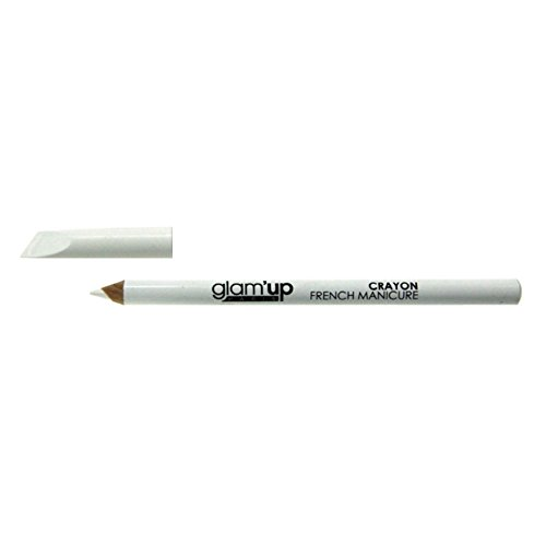Glam'Up - Nail Art - Crayon Blanc French Manucure - Fabrication Européenne