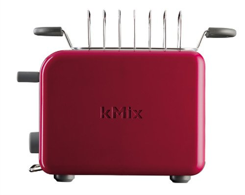 Kenwood TTM 021 Kmix Toaster Peekm View Funktion (900 Watt) chili rot