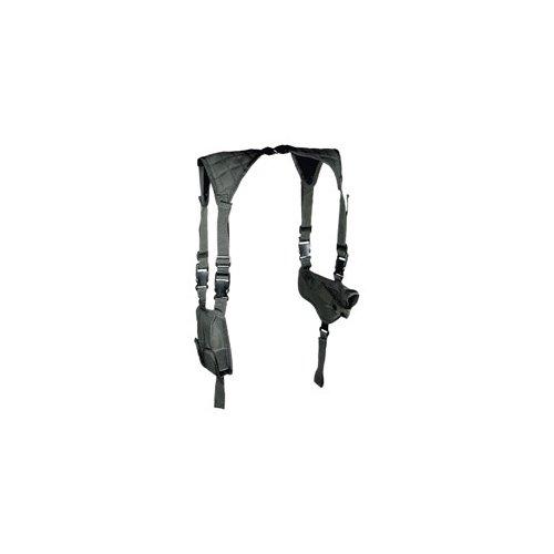 UTG Schulterholster Deluxe Horizontal Schoulder Holster, Schwarz, PVC-H170B