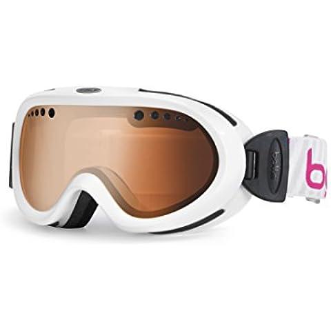 Bollé Nebula - Gafas de esquí, color blanco, talla S/M