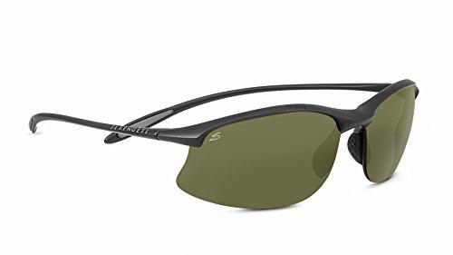 Serengeti Eyewear Sonnenbrille Maestrale, Sanded Dark Grey/Polar Phd, 8451