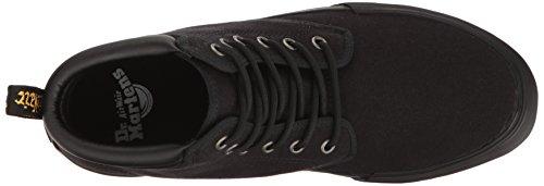 Dr.Martens Mens 6-Eyelet Eason Canvas Canvas Shoes Black