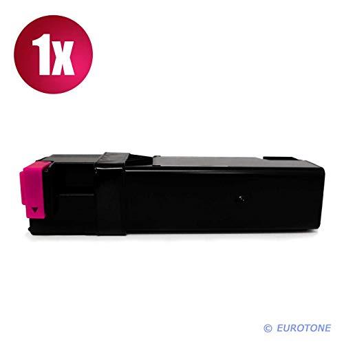 1x Eurotone Toner für Xerox Phaser 6125 V N ersetzt 106R01332 Magenta Rot -