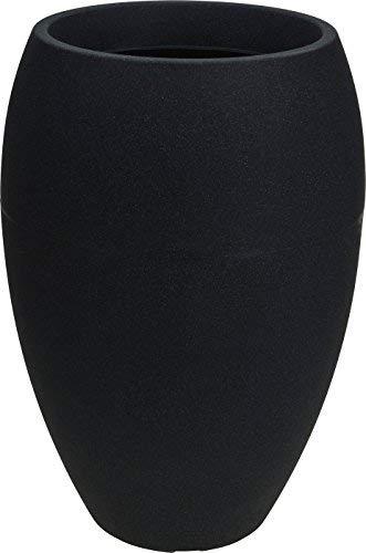 zkübel hoch - 58x40 cm - XXL Kunststoff Blumenkübel Pflanztopf rund ()