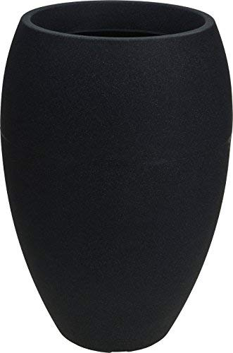 Spetebo Design Pflanzkübel hoch - 58x40 cm - XXL Kunststoff Blumenkübel Pflanztopf rund