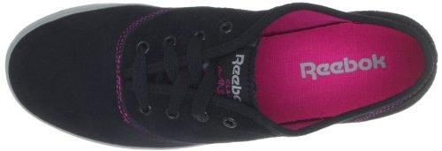 Reebok Heritage Ultralite, basket femme Noir - Schwarz (BLACK/FLAT GREY/PINK)