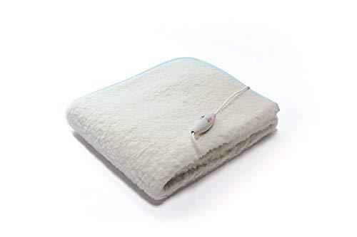 Ardes  ar4f11 termocoperta scaldaletto singolo morfeet 100% pura lana caldo piedi 160 x 80 cm