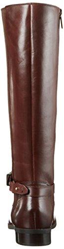 Clarks - Stivali Alti Pita Vienna Donna Marrone (Mahogany Leather)