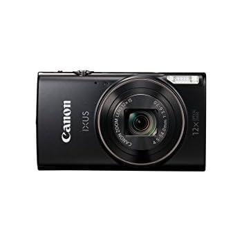 Canon Ixus 285 HS Fotocamera Compatta Digitale, 20.2 Megapixel, Nero/Antracite