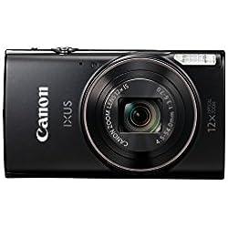 Canon IXUS 285 HS Appareils Photo Numériques 21.1 Mpix Zoom Optique 12 x - Noir
