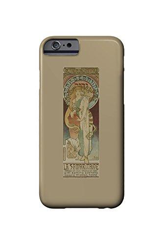 la-samaritaine-vintage-poster-artist-mucha-alphonse-france-c-1897-iphone-6-cell-phone-case-slim-bare