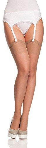 Antie calze per reggicalze donna 20 den (natural, m (taglia produttore: 3)