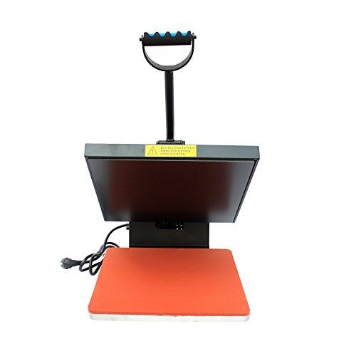 Homcom® Transferpresse Textilpresse T-Shirtpresse Textildruck Schwenkbar 38x38cm - 3