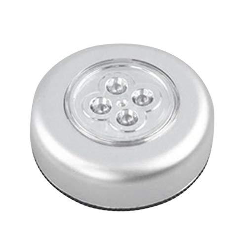 À Led Rond Poussoir 4 Lampe Touch Cabinet Placard Automobile Accueil Control Cuisine Chambre Nuit Utilisation 8Nn0wvmO