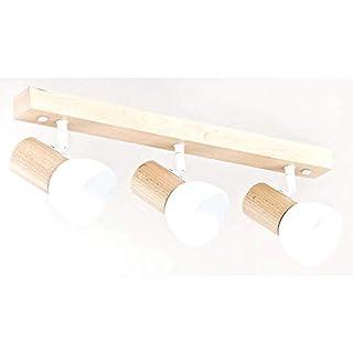 ALFA Santo Weiß 3 Deckenbeleuchtung Deckenleuchte Deckenstrahler Deckenspot