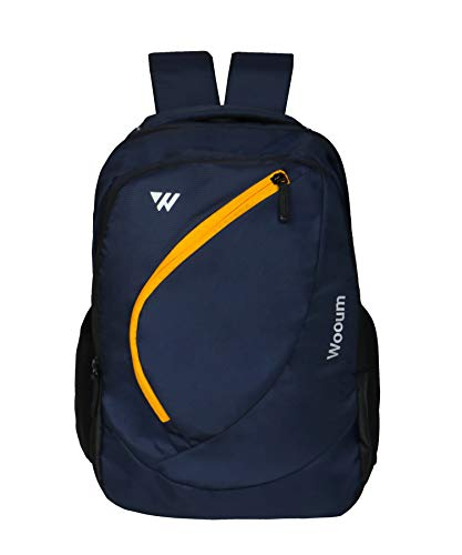 Wooum Navy Blue Light Weight 15.6 inch Casual Laptop Backpack 34 ltrs Bag Image 1