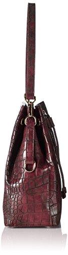 Cinque Damen Donna Beutel Henkeltaschen, 25x29x14 cm Rot (burgundy 1700 1700)