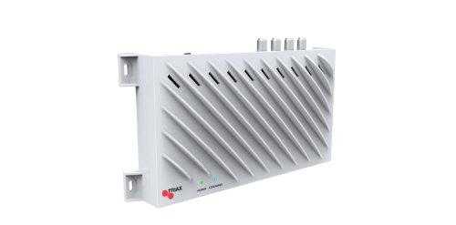 Triax TSS 400 SAT>IP Converter (4 SAT-Tuner, 4 Teilnehmer, Netzwerkstreaming, Ethernet) weiß (Ipod Dvds Converter)
