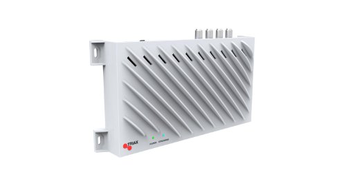 Triax TSS 400 SAT>IP Converter (4 SAT-Tuner, 4 Teilnehmer, Netzwerkstreaming, Ethernet) weiß (Sat Ip)