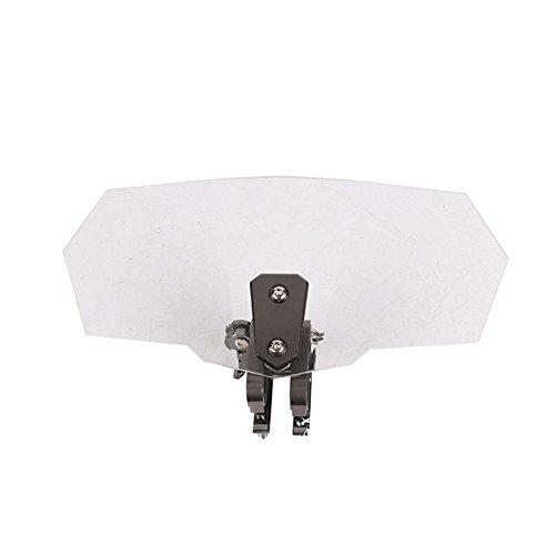 Deflector universal y ajustable para parabrisas de motocicleta, de Romsion