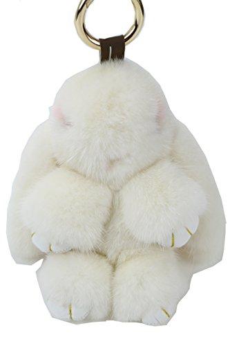 Ysting Visone catena Coniglio chiave chiave fibbia Trinket per le donne Borsa / Cellulare accessori del pendente / Car
