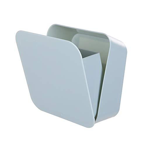 Paste Wand Aufbewahrungsbox - Wand Aufbewahrungsbox Kunststoff Aufbewahrungsbox Wasserdichte Paste Hängende Box Wasserdichte Badezimmer Zahnbürste Wandhalterung Halter Organizer (Mülleimer Küche Groß Schritt)