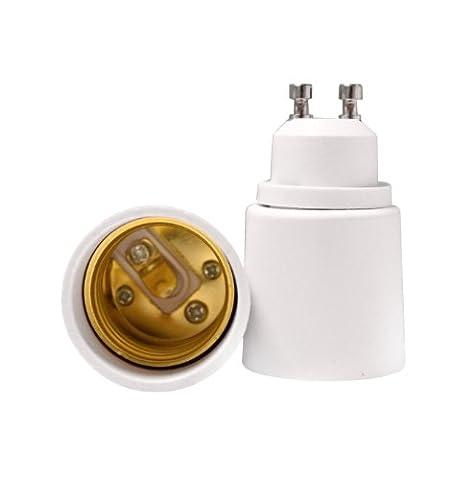 TWLC Convertisseur Base Ampoule GU10 vers E27 Support Adaptateur Prise Lampe