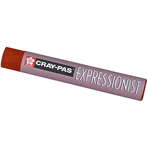 Cray-Pas expresionista en colores pastel de Brown