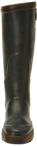 Aigle Parcours 2 Unisex-Erwachsene Langschaft Gummistiefel Grün (Bronze 8)