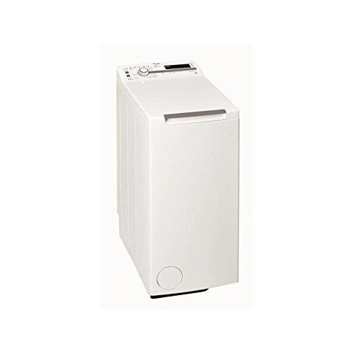 Lave linge Top Whirlpool TDLR65211 - Lave linge - Pose libre - capacité : 6.5 Kg - Vitesse d'essorage maxi 1200 tr/min - Classe A+++