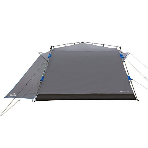 Qeedo Quick Villa 5, Sekundenzelt für 5 Personen, Familien-Zelt mit Stehhöhe - grau - 5