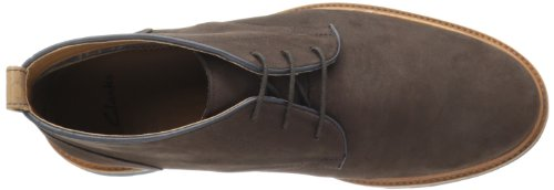 Clarks Fulham Hoher Stiefel Brown Suede