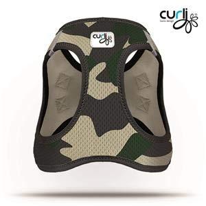 CURLI Brustgeschirr Plush Vest AIR-MESH camouflage für… | 07640144825836