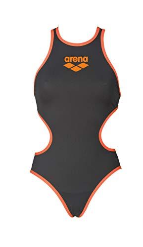 W Big Kostüm - arena W One Biglogo, Damen-Kostüm, damen, 001198, Deep Grey/Fluo Orange, 38