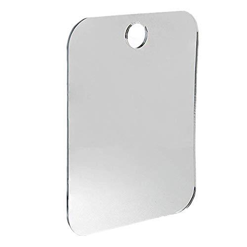 HoSayLike Espejo de baño Ducha antivaho Espejo No Hay Espejo de Afeitado Brumoso Baño Libre