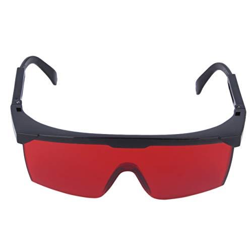 Augenschutzbrille Laserschutzbrillen Auge Brille Brillen Kühle Laser Gläser Universell für einen Mann eine Frau (rot) (Augen Brille Rote Frau)