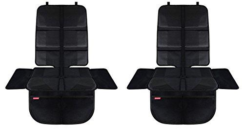HerzensKind Premium Autositzauflagen im 2er-Set, der perfekte Schutz für Ihre Autositze, Kindersitzunterlage für Textil- und Ledersitze, ISOfix geeignet