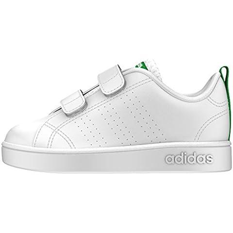 adidas Vs Advantage Clean Cmf Inf, Zapatos de Primeros Pasos Para Bebés