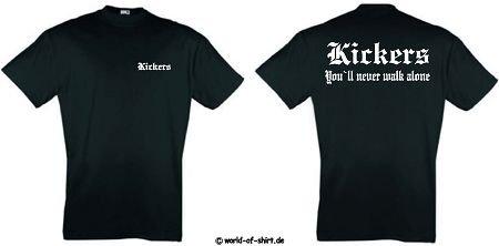 world-of-shirt Herren T-Shirt Stuttgarter Kickers Ultras
