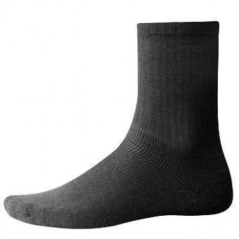 Woolpower 400 - chaussettes - noir (Taille cadre: 45-48) Chaussettes