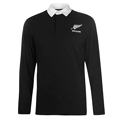 Retro New Zealand Rugby Shirt (100% Premium Cotton) Heavyweight T-shirt Rugby