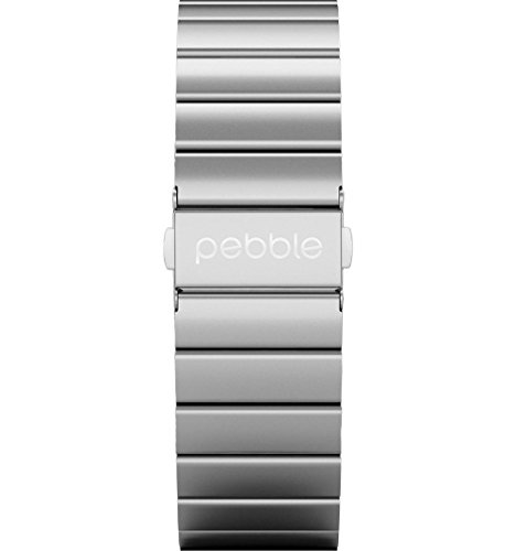 pebble-51121-22mm-silver-stainless-steel-classic-time-watch-band-strap-compatible-with-the-pebble-ti