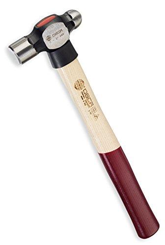 OSCA os108b44635,6cm Kugelhammer mit Nylon Schutz und Griff aus Eschenholz