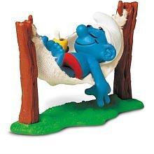 Preisvergleich Produktbild Schleich Super Smurf in Hammock Figurine by Schleich (English Manual)